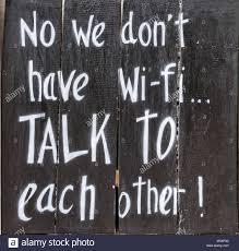Senza WiFi si può vivere. Nel nostro piccolo, ci siamo anche noi nella lista dei felici sconnessi!